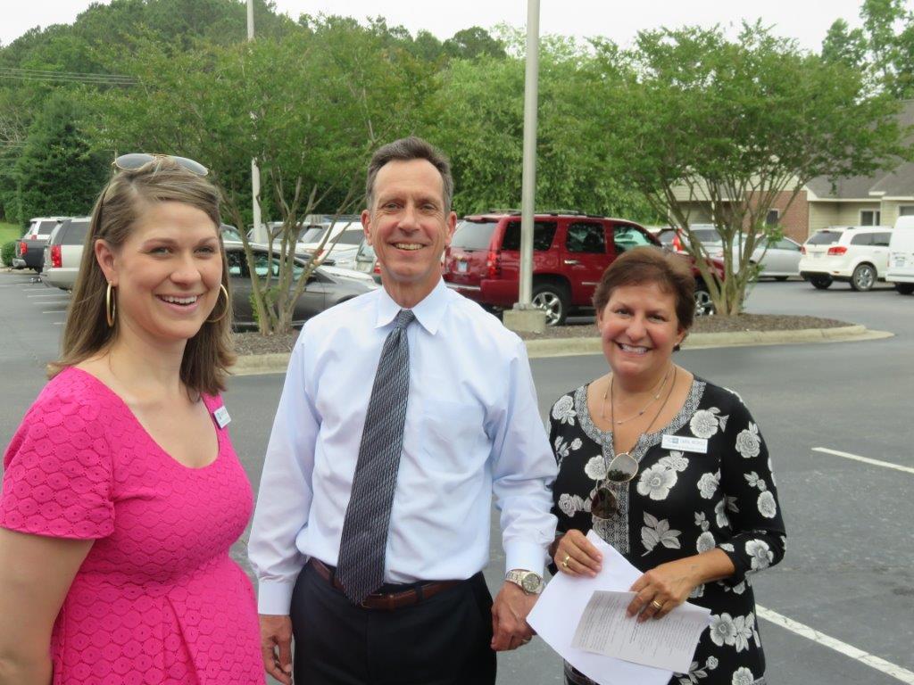 Margaret Dickerson, Greg Wood and Carol Nichols