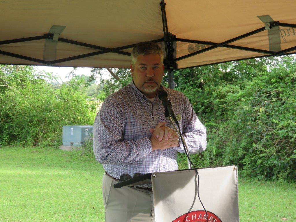 Chris English, Executive Director Scotland County Area Chamber of Commerce