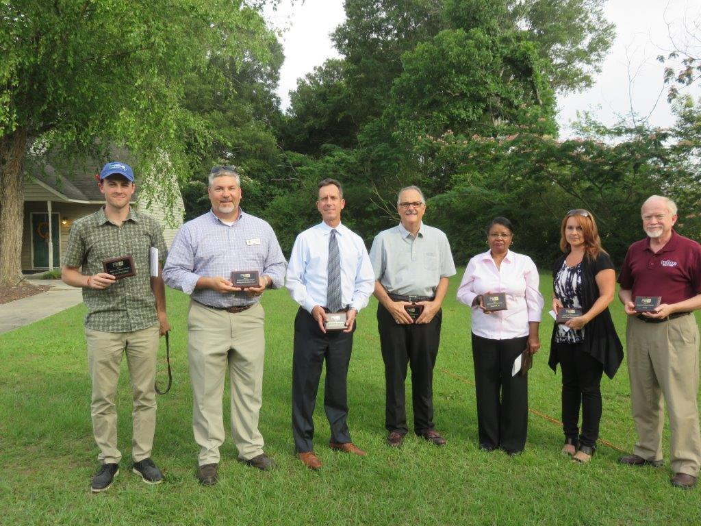 Award of Appreciation:  Scotland HealthCare Systems, Service Thread, WLNC, Nic's Pic Kwik, The Laurinburg Exchange, Hanesbrand, Laurinburg/Scotland County Area Chamber of Commerce