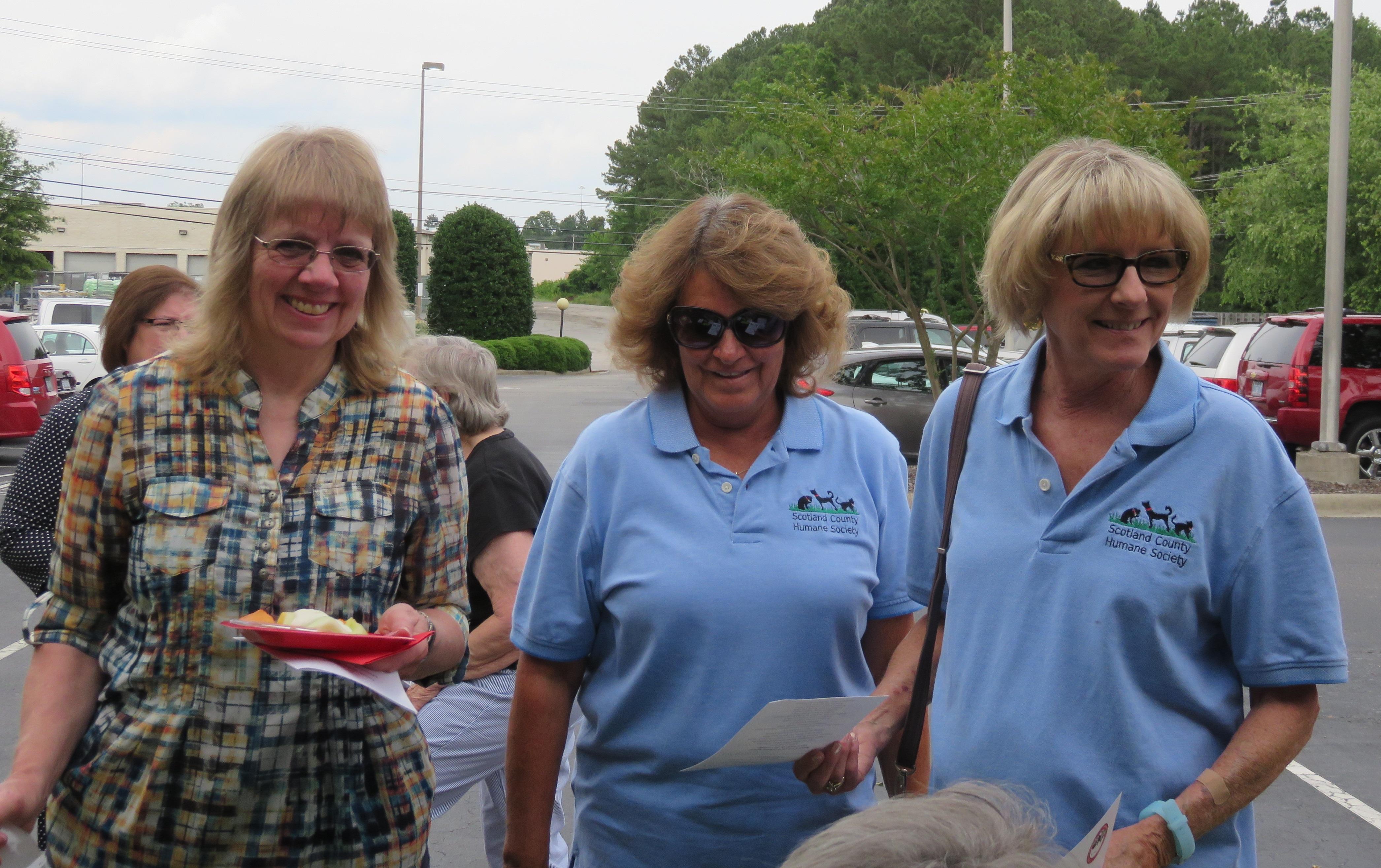 Pam Malk, Joanne Lea, Wanda Livingston - Scotland County Humane Society